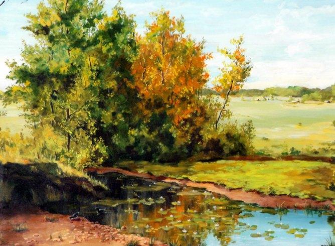 свет и цвета в композиции картины