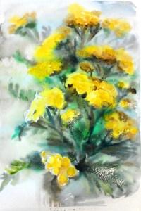 прорисовываем цветы