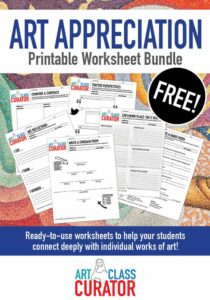 Free Art Worksheets Printable Bundle
