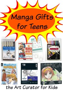 the Art Curator for Kids - Manga Gifts for Teens-300