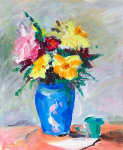 oil painting class ,painting of flower, art for beginners, southport, sefton, Liverpool, Merseyside, UK