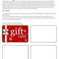 Quick Lesson: Giftcards