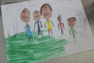2nd Grade Family Portraits COLOR (7)