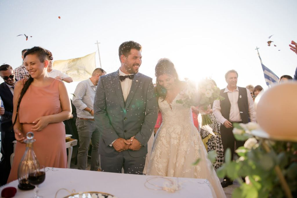 Destination wedding in Limnos