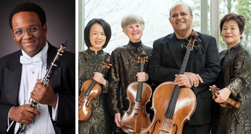 Amici String Quartet with Afendi Yusuf,