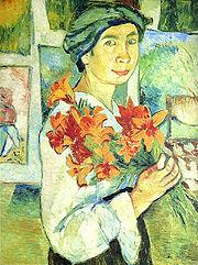180px-goncharova_self_portret_yellow_lilies