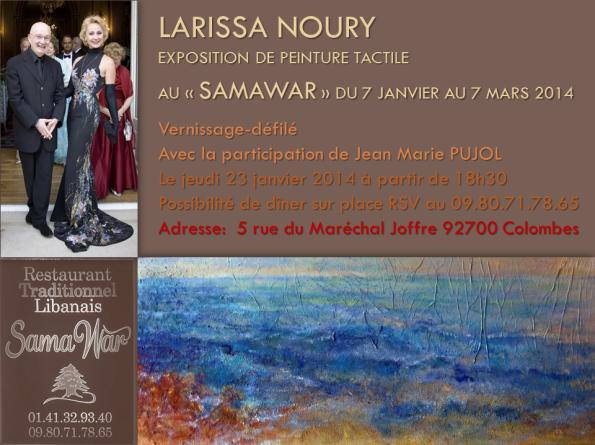 EXPOSITION LARISSA NOURY, SAMA WARv1