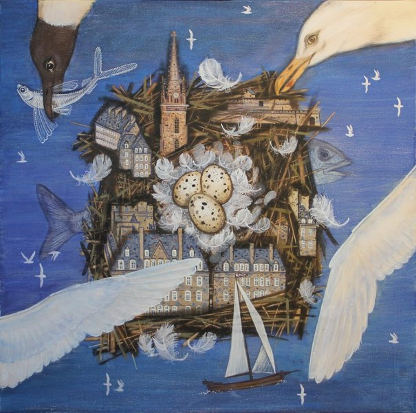 Olga Kataeva: ''Entre ciel et mer''