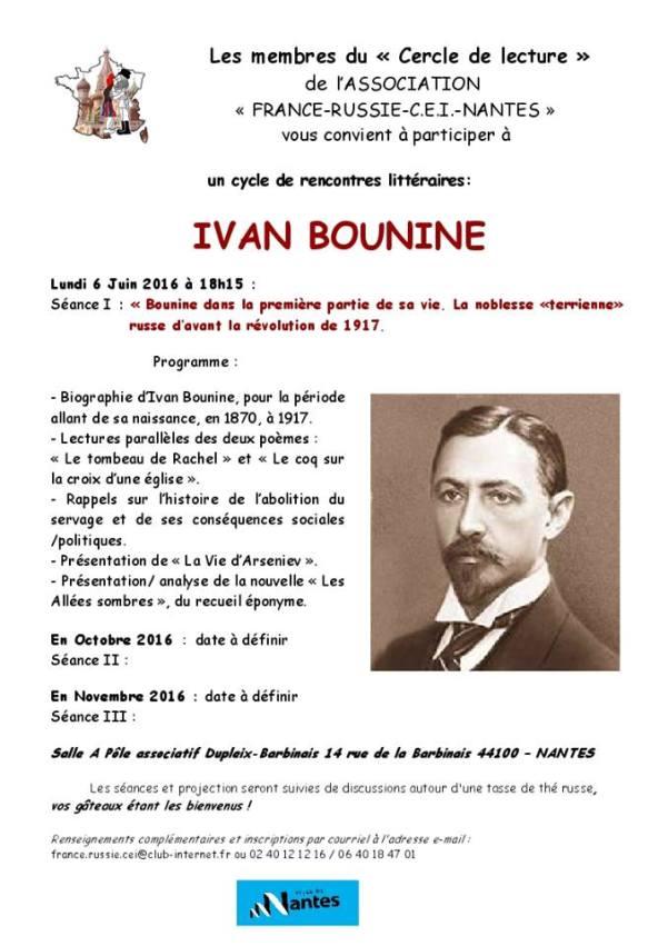Ivan Bounine à Nantes
