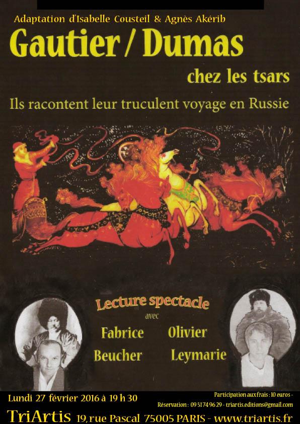 Affiche Gautier-Dumas