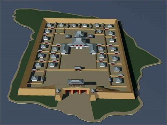 Sibérie qui a construit Por-Bajin et pourquoi-1