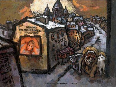 Montmartre oscar rabine
