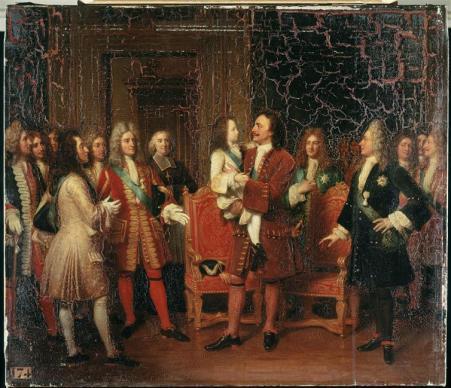 Pierre Ier et Louis XV