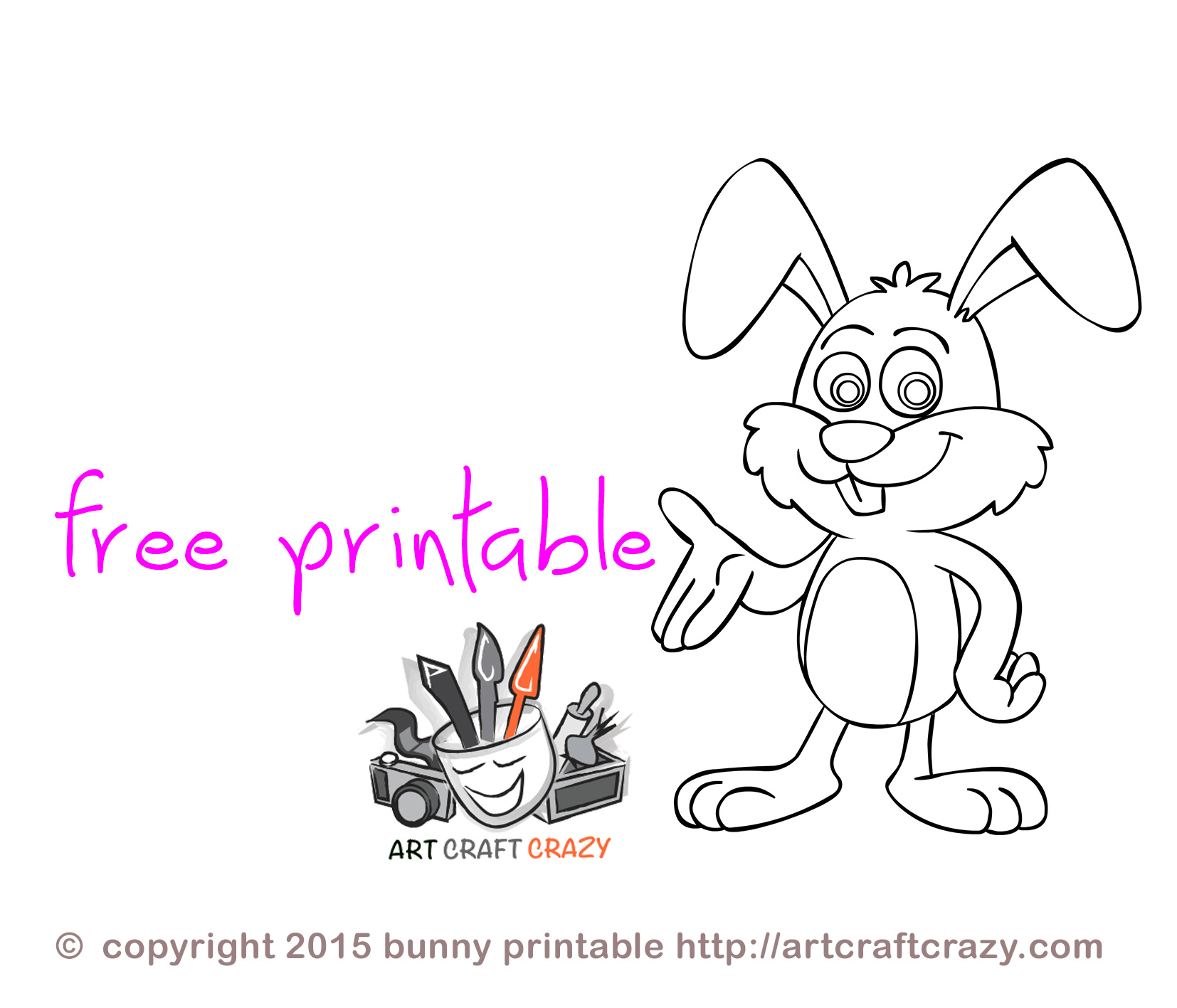 Free Printable Easter Crafts For Toddlers