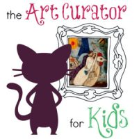 The Art Curator for Kids - Square Logo