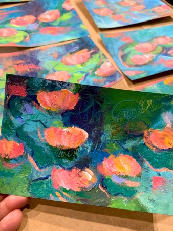 waterlilypostcards
