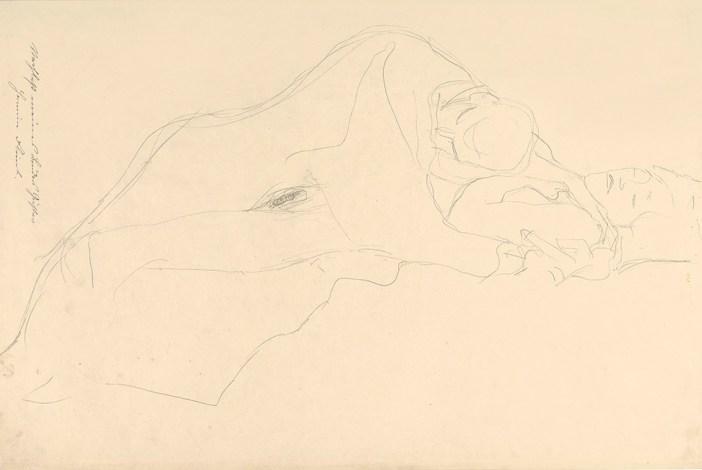 Gustav Klimt, The Lovers, 1913