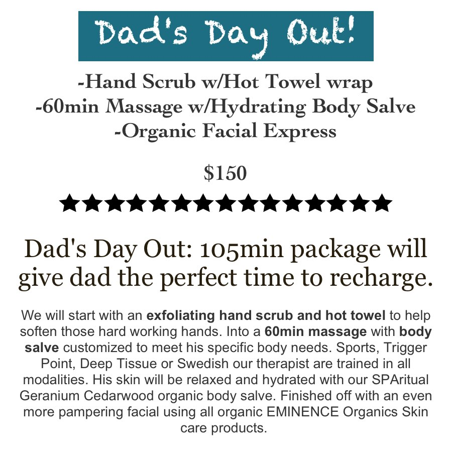 Fathers Day Spa Massage Package San Antonio