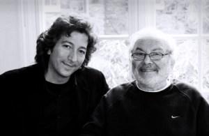Nick Leone and Maurice Sendak