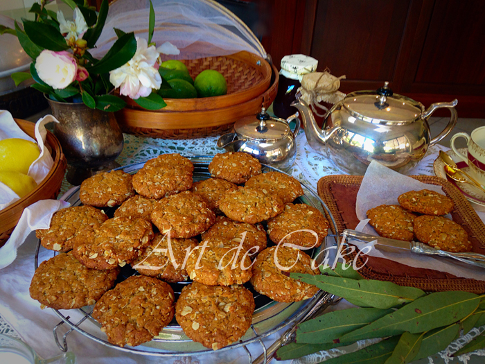 Award winning Anzac biscuits
