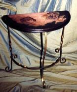 Table déco demi-lune 1992'