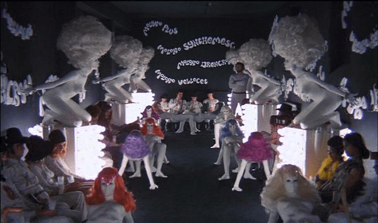 A Clockwork Orange (1971) | Director Stanley Kubrick | Production Design Porn