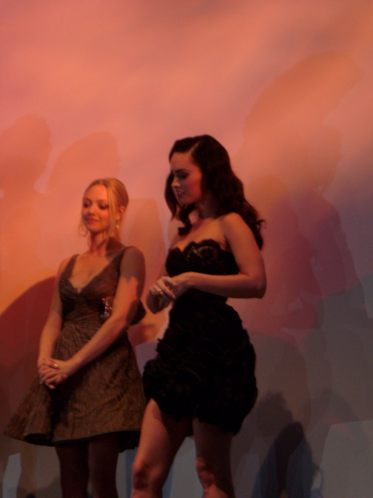 Amanda Seyfried and Megan Fox at the Premiere of 'Jennifer's Body'