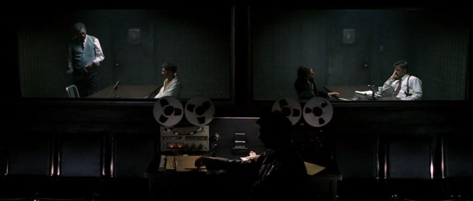David Fincher Production Design / Production Designer: Arthur Max / Seven Interrogation Scene