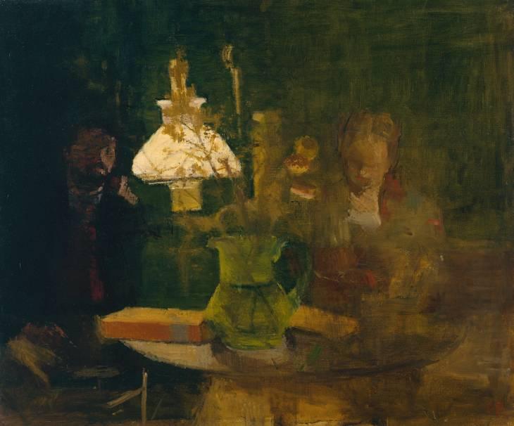 """Lamplight"", 1941 / Artist: Victor Pasmore"