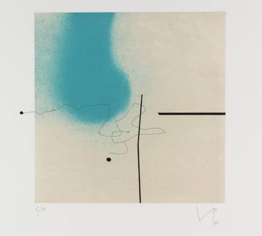 """""""Magic Eye 1"""", 1995, Artist: Victor Pasmore"""