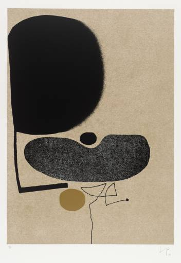 """""""Points of Contact No. 22"""",1974, Artist Victor Pasmore"""