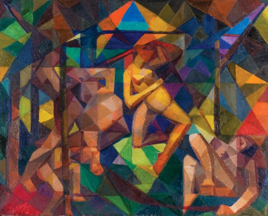 The Dance| c. 1923| oil on canvas| 61 x 76.2 cm