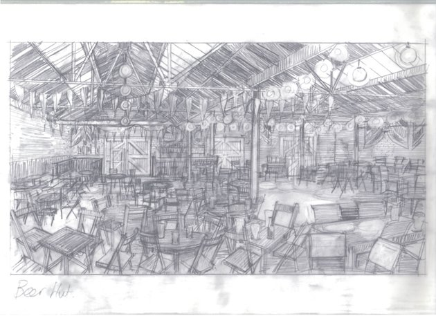 The Imitation Game Concept Drawing
