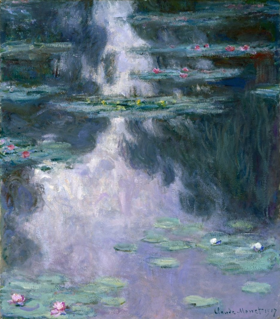 Water Lilies Nympheas- by Claude Monet