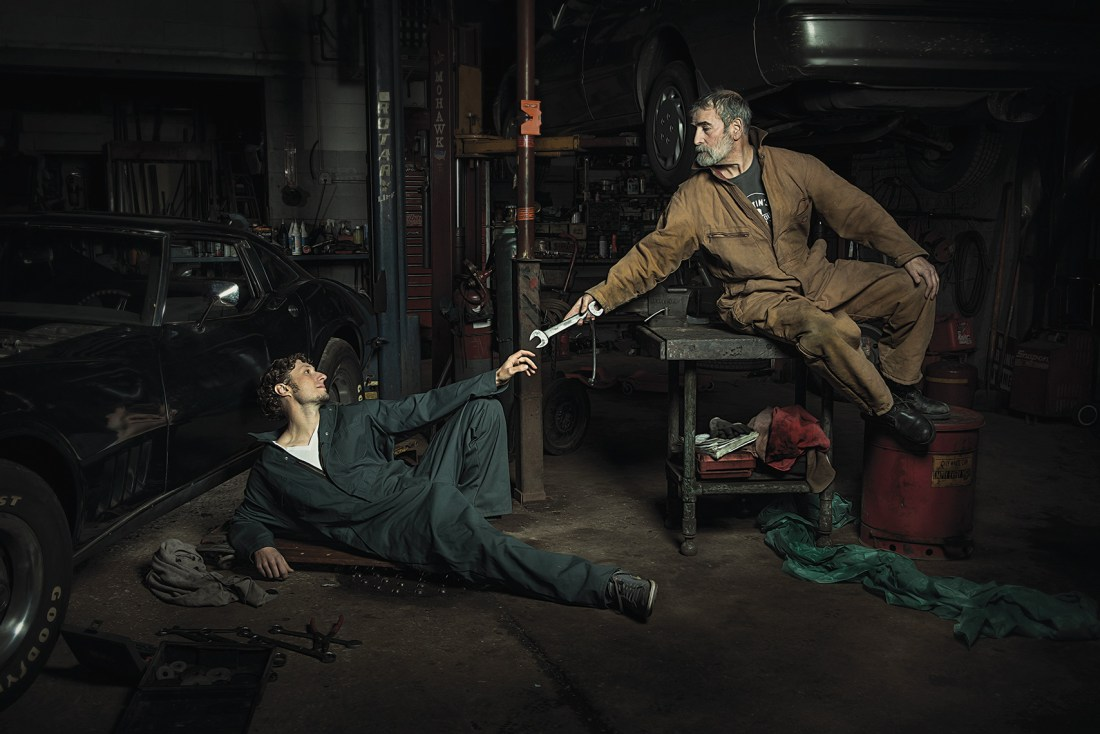 The Renaissance Series: The Creation of Adam by Freddy Fabris | Mechanics Renaissance Photos | Freddy Fabris Renaissance Series