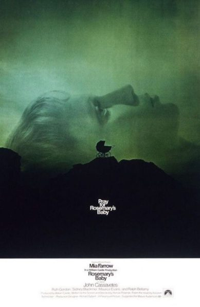 Rosemary's Baby Movie Poster / movie poster design / movie poster artist