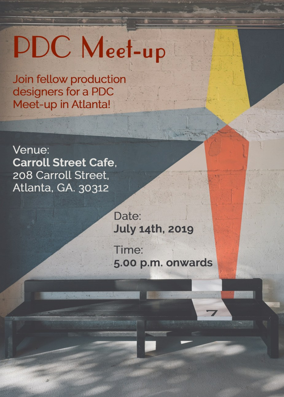 Atlanta Production Designers Meetup by PDC