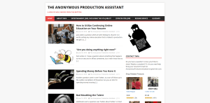 The Anonymous Production Assistant