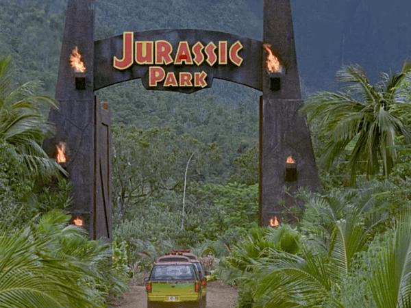 Jurassic Park Graphic Design