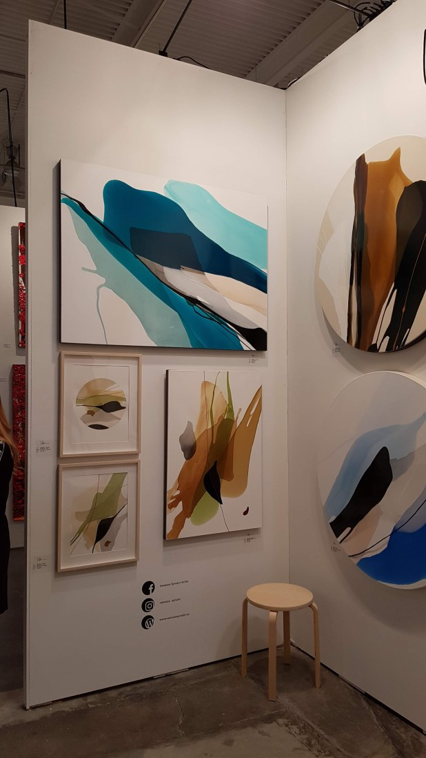 Artist Vanessa Sylvain at The Artist Project 2019
