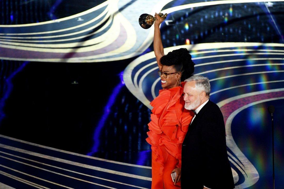 Hannah Beachler's Oscar speech for Best Production Design
