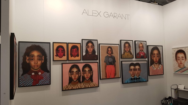 Artist Alex Garant at The Artist Project