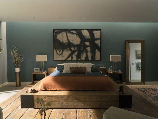 Big Little Lies Production Design | Production Designer John Paino | Set Decorator: Amy Wells | Set design of Celeste's bedroom