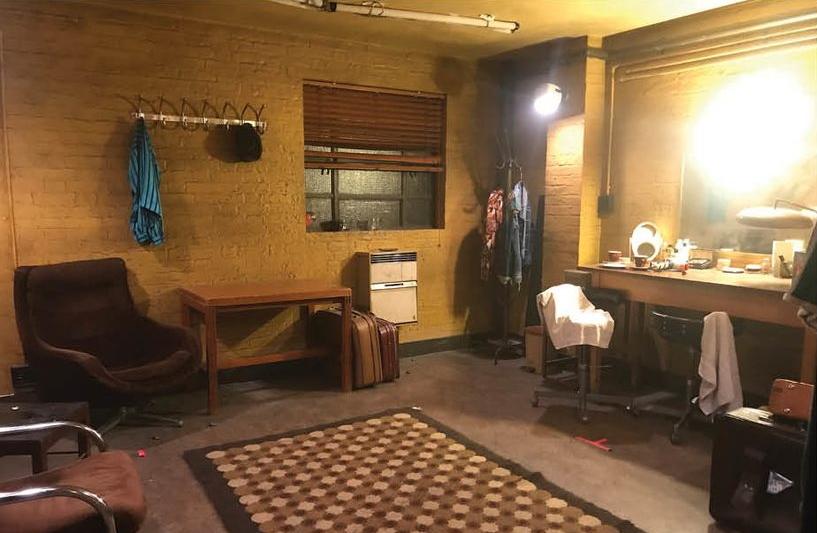 Int. Troubadour Backstage Set Still