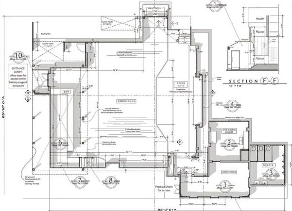 Int. Troubadour Floorplan
