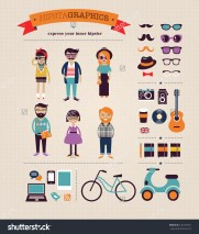 stock-vector-hipster-infographic-concept-background-with-icons-126107021