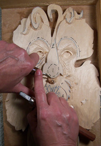 styles of wood carving by Lora S Irish