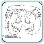 Halloween mask patterns by Lora S Irish