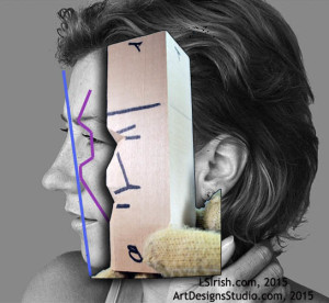 Planes of the Human Face in Wood Spirt Carving