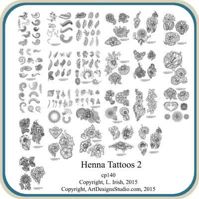 Henna Tattoo Patterns